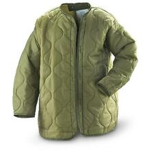 MILITARY FIELD JACKET PARKA GORE-TEX COAT LINER QUILTED INSULATED OD GREEN SMALL