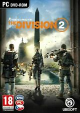 TOM CLANCY'S THE DIVISION 2 PC DVD BOX NEW SEALED PAL UK ENGLISH LANGUAGE SHOP!