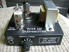 Am Radio Transmitter-All tube-Excellent Audio Quality and Very Frequency Stable!