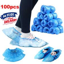 100Pcs/Set Waterproof Plastic Shoe Covers Rain GTtdoors Rooms Disposable
