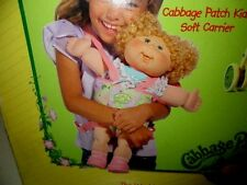 Cabbage Patch 2005 Doll Carrier Pink Green Just Deboxed