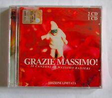MASSIMO RANIERI - GRAZIE MASSIMO -   CD  NUOVO E SIGILLATO - 2CD