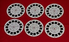 New York City VIEW-MASTER REELS LOT United Nations Rockefeller Center reel sets