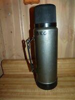 ALADDIN  Vintage Metal Thermos 1 Quart No. 11 stopper SB950H