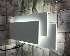 Bianca 12W 650lm LED Applique in Vetro - Bianco
