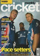 Wisden Cricket Monthly Magazine - August 2002 - Flintoff, Tudor, Hoggard