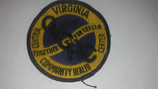 Vintage 1970 Central Virginia Community Health Center Patch
