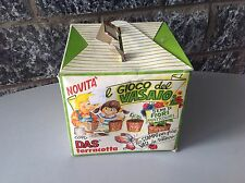 Vintage 80S# Il Gioco Del Vasaio Adica Pongo Das#Nib Nuovo In Box