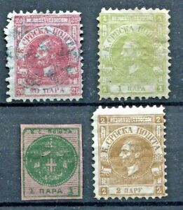 SERBIA -  Selection classic material, MNH/MH/Canc./Mint no gum