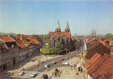 B53928 Markt mit Kirche Divi Blasii in Muhlhausen car voiture   germany
