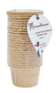 Caissettes cupcake et muffin en papier 25 pièces - Mirontaine