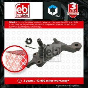 Ball Joint fits TOYOTA LAND CRUISER J9 3.0D Lower Right 96 to 02 1KD-FTV Febi