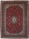 Hand Knotted Classic Floral Design 10X13 Vintage Area Rug Oriental Wool Carpet