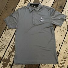 NHL Los Angeles KINGS Hockey • Men's TRAVIS MATHEW Polo Golf Shirt size MEDIUM
