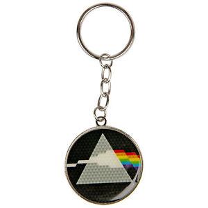 Pink Floyd Logo Metal Keychain Black