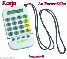 Korjo CC78 Worldwide Travel Foreign Currency World Money Converter & Calculator