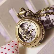 Colgante mini reloj de bolsillo Los Juegos del hambre Sinsajo Katniss