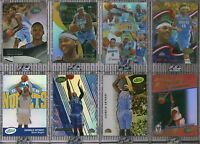 CARMELO ANTHONY 8 CARD COMPLETE ETOPPS LOT 2003 ROOKIE-2008 IN HAND OKC THUNDER