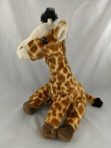 "Aurora Giraffe Plush 14"" Destination Nation Stuffed Animal toy"