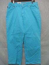A8631 Ralph Lauren Bright Blue NWT Women Capri 35x25
