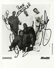 Damage Signed 10x8 Autograph Photo - 90's Boy Band - Jade Jones - UACC COA