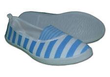 Da Donna In Tela décolleté/Scarpe sportive tela,Color Blu Cielo,Misura 6 EUR39
