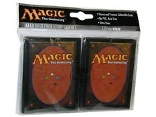 160 ULTRA PRO MAGIC CARD BACK DECK PROTECTORS SLEEVES MTG Standard Art 2 Packs