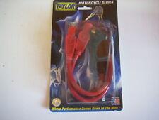 TAYLOR 8mm RED SPARK PLUG WIRES HARLEY SPORTSTER 883 1100 1200 HUGGER XL XLH