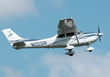 Giant 1/3 Scale Cessna 182 Skylane Plans and Templates 144ws