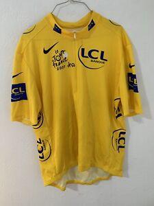LCL Banque Cycling Team Shirt Le Tour de France 2007 Nike Size XXL