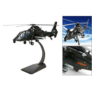 Z-19 Helicopter Plane 1:30 Scale Model Airplane with Display Stand Kids Toys