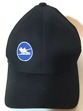 T-Bar STEAMBOAT COLORADO SKI RESORT Black Baseball HAT CAP Rare! Size L - XL