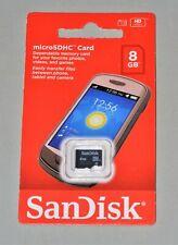SanDisk 8GB microSD C4 8G microSDHC micro SD SDHC memory card SDSDQ-008G New