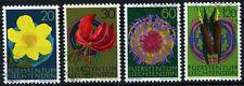 Liechtenstein 1972 SG#548-551 FIORI usato CTO Set #D59378