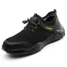 Mens Work Safety Shoes Steel Toe Cap Bulletproof Boots Indestructible Sneakers D
