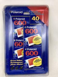 NIP Polaroid 600 Color Instant Film 4 Pack of 10 40 Photos One 600.