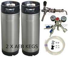 AEB PRO KEGGING KIT - PREMIUM REGULATOR HOME BREW BEER KEG SYSTEM KEGERATOR CO2