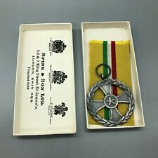 Desert Storm Italian Army Persian Gulf Service Medal w/ Box Spink A925