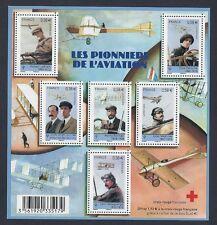 2010 Bloc n° F4504 Les PIONNIERS de l'AVIATION - NEUF**LUXE