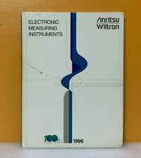 Anritsu Wiltron 1996 Electronic Measuring Instruments Catalog