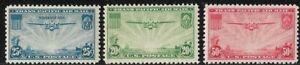 C20 C21 C22 MNH OG  US Airmail Stamp China Clipper Complete Set