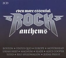 Even More Essential Rock Anthems NEW 2CD THIN LIZZY,FREE,TOTO,BOSTON,SLADE Etc.