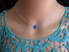 Hamsa necklace, silver necklace, opal hand necklace, hand pendant, opal hamsa