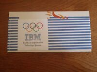 Lot 4 Postcards IBM Atlanta 1996 Worlwide Information Technology Sponsor