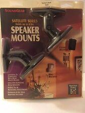 Soundgear Satellite Series Speaker Mounts Model SATP-B New Unused, Color: Black