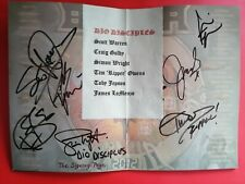 More details for dio disciples fully signed programme ronnie james dio