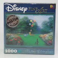 DISNEY FINE ART 1000-PC PUZZLE~WINNIE THE POOH (RESCUING PIGLET)~Peter Ellenshaw