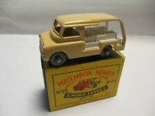 Matchbox Lesney Regular Wheels- #29 Milk Delivery Truck- metal wheels, boxed