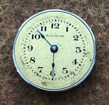 Vintage Waltham Riverside Bracelet Pocket Watch Movement Parts/Repair 9/0s Rare