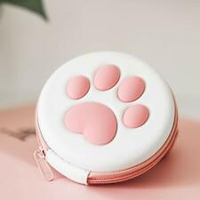 Cute Paw Game Cards Holder Cartridge Storage Case for Switch Games Card Slots